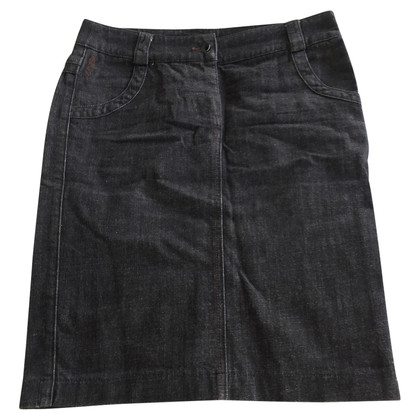 Armani denim skirt