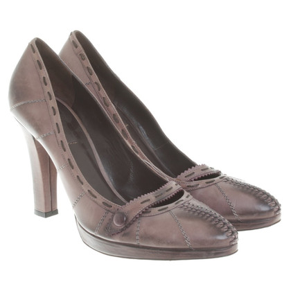 Bottega Veneta pumps in Bruin