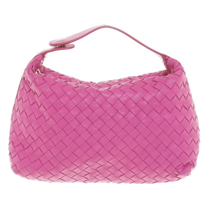 Bottega Veneta Handtas in roze