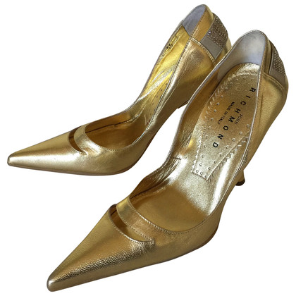 Richmond Goldfarbene Schuhe