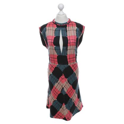 Marni Kleid mit grafischem Print