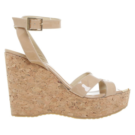 Beige Wedges Choo Beige Jimmy Jimmy in Wedges Beige Beige Choo Jimmy Choo in Wedges HwqZfESx7Y