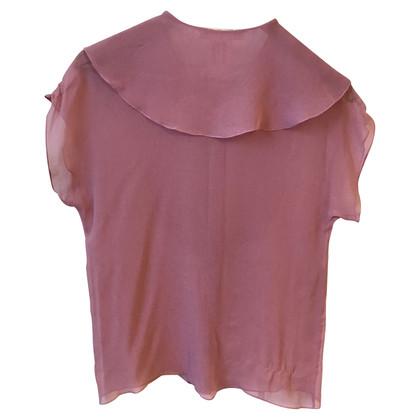 Chloé Camicetta di seta in rosa