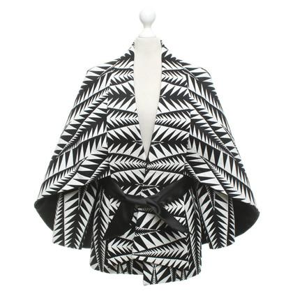 Balmain Giacca in bianco / nero
