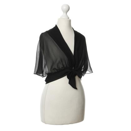 Philosophy di Alberta Ferretti Bolero made of silk