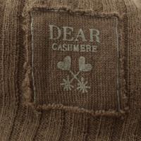 Dear Cashmere Cardigan in ocra