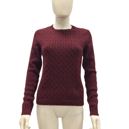 Red Valentino Burgundy sweater
