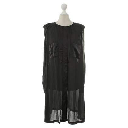 By Malene Birger Blusenkleid in Anthrazit