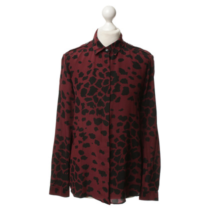 Burberry Silk blouse with print