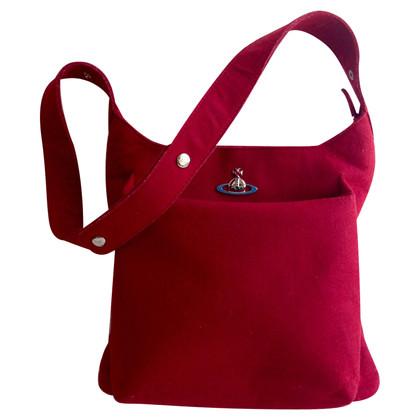 Vivienne Westwood Rote Schultertasche
