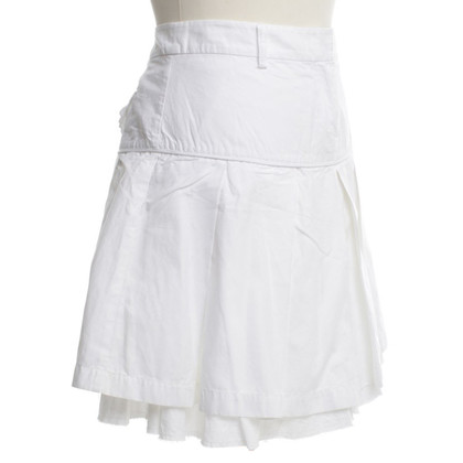 Other Designer Essence - skirt in White