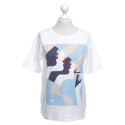 Elisabetta Franchi T-shirt Bianco / Multicolor