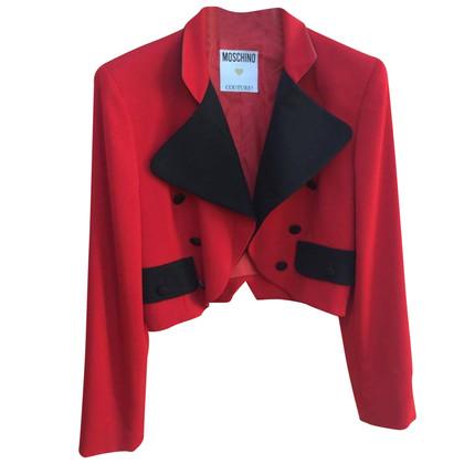 Moschino giacca rossa Moschino