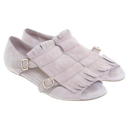 Santoni Sandals in Lilac