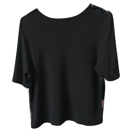 Ann Demeulemeester T-shirt mit Samt