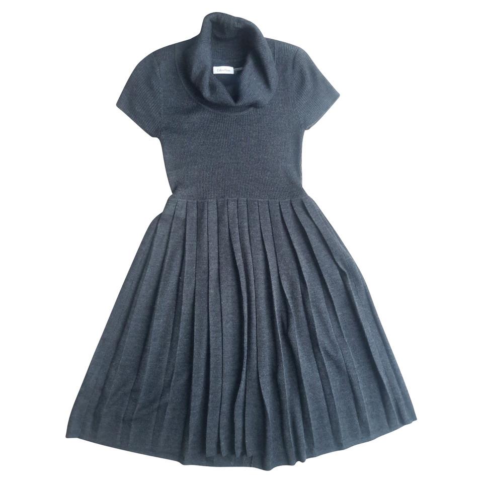 Calvin Klein Knit dress with pleats
