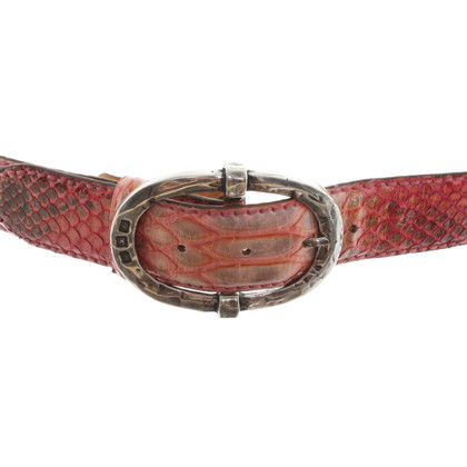 Reptile's House Belt in pink