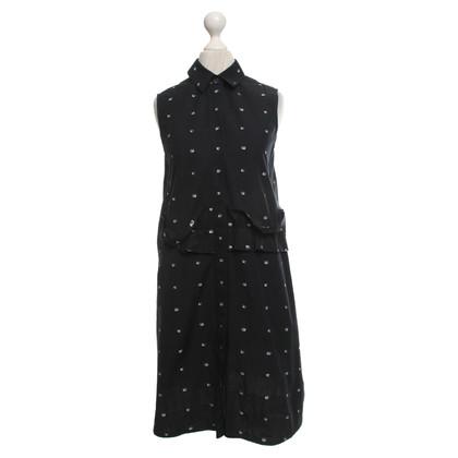 McQ Alexander McQueen Kleid mit Stickerei