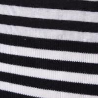 Miu Miu Kurzarm-Pullover mit Streifenmuster