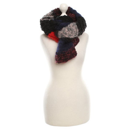 Lala Berlin Knitted scarf with pattern