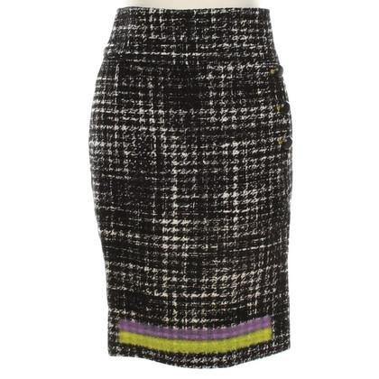 Gianni Versace skirt in Black / White