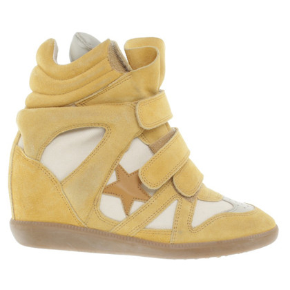 Isabel Marant sneaker in pelle scamosciata