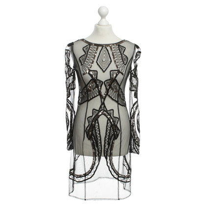 Alice By Temperley Transparante jurk in zwart