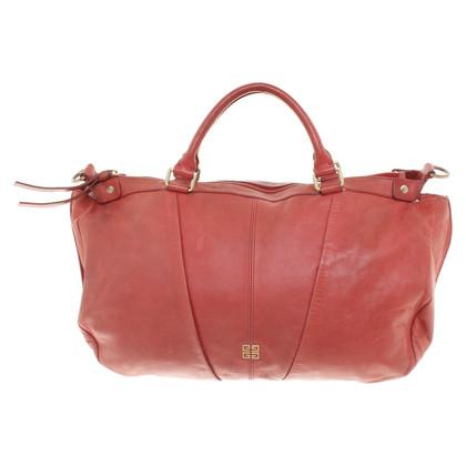 Givenchy Lederen handtas in het rood