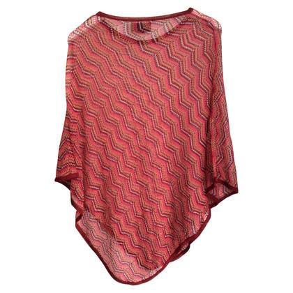 Missoni Crochet en tricot cape