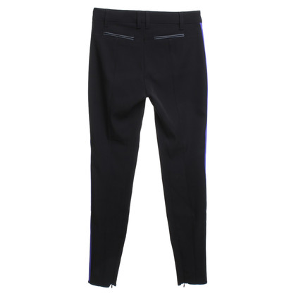 Marc Cain trousers in black / purple