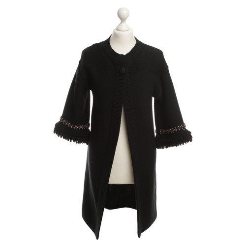 quality design f3737 d1c1c Red Valentino Cardigan in lana con perline - Second hand Red ...