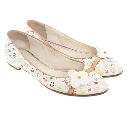 Louis Vuitton Ballerinas aus Monogram Multicolore Canvas