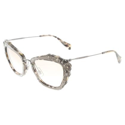 Miu Miu Sonnenbrille in Cateye-Form