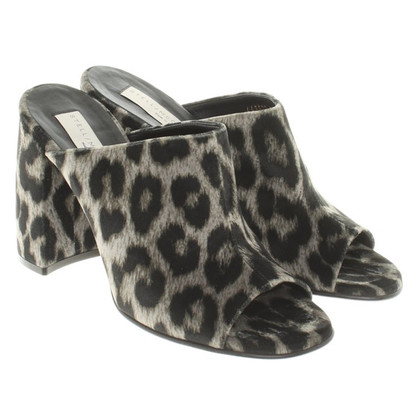 Stella McCartney Mules with leopard pattern