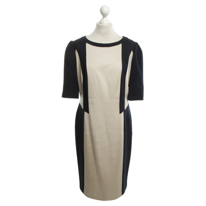 Laurèl Dress in blue-beige