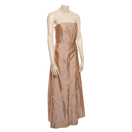 René Lezard Long evening dress in Nude
