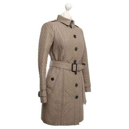 Burberry Cappotto trapuntato in Khaki