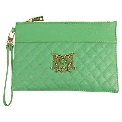 Moschino Love clutch verde