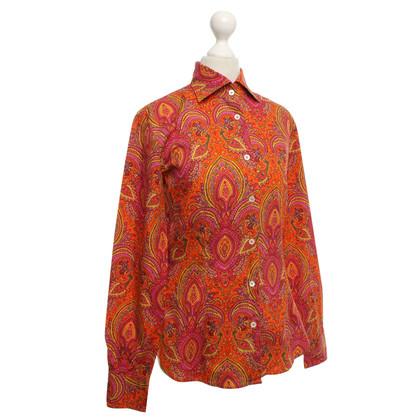 Bogner Shirt met patronen