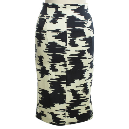Odeeh Pencil skirt with pattern