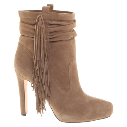 Jean-Michel Cazabat Brown boots with fringes