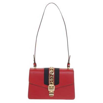 "Gucci ""Sylvie Bag"" in red"