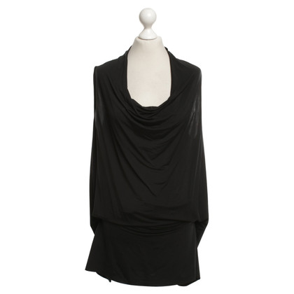 All Saints Top in zwart