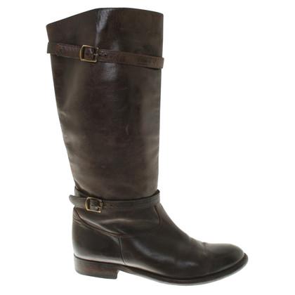 Belstaff Stivali in marrone scuro