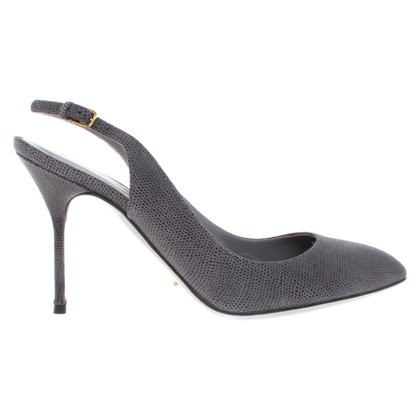 Sergio Rossi Sling-pumps in grey