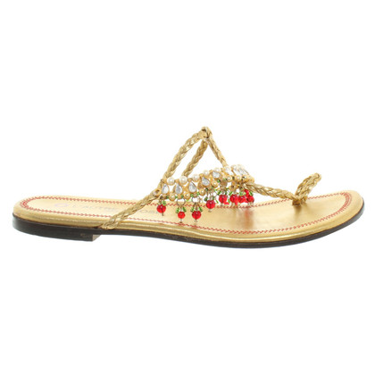 L'autre Chose Sandalen in Gold