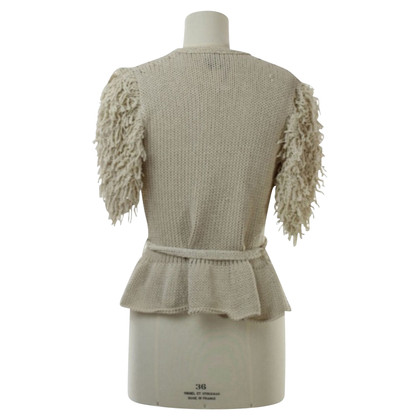 Clare Tough Cardigan with fringes