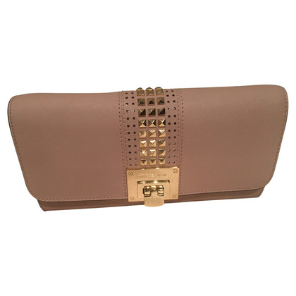 Michael Kors clutch in Nude