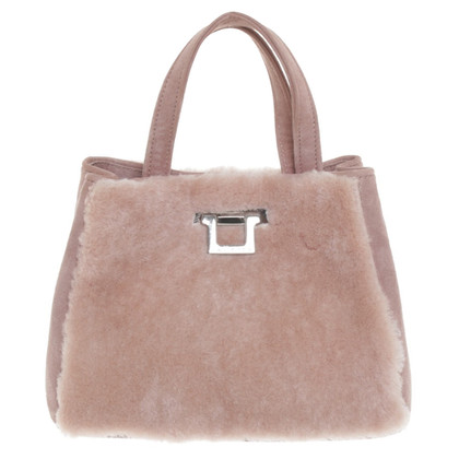 Unützer Handbag in blush pink