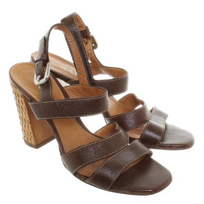 Prada Sandals in brown